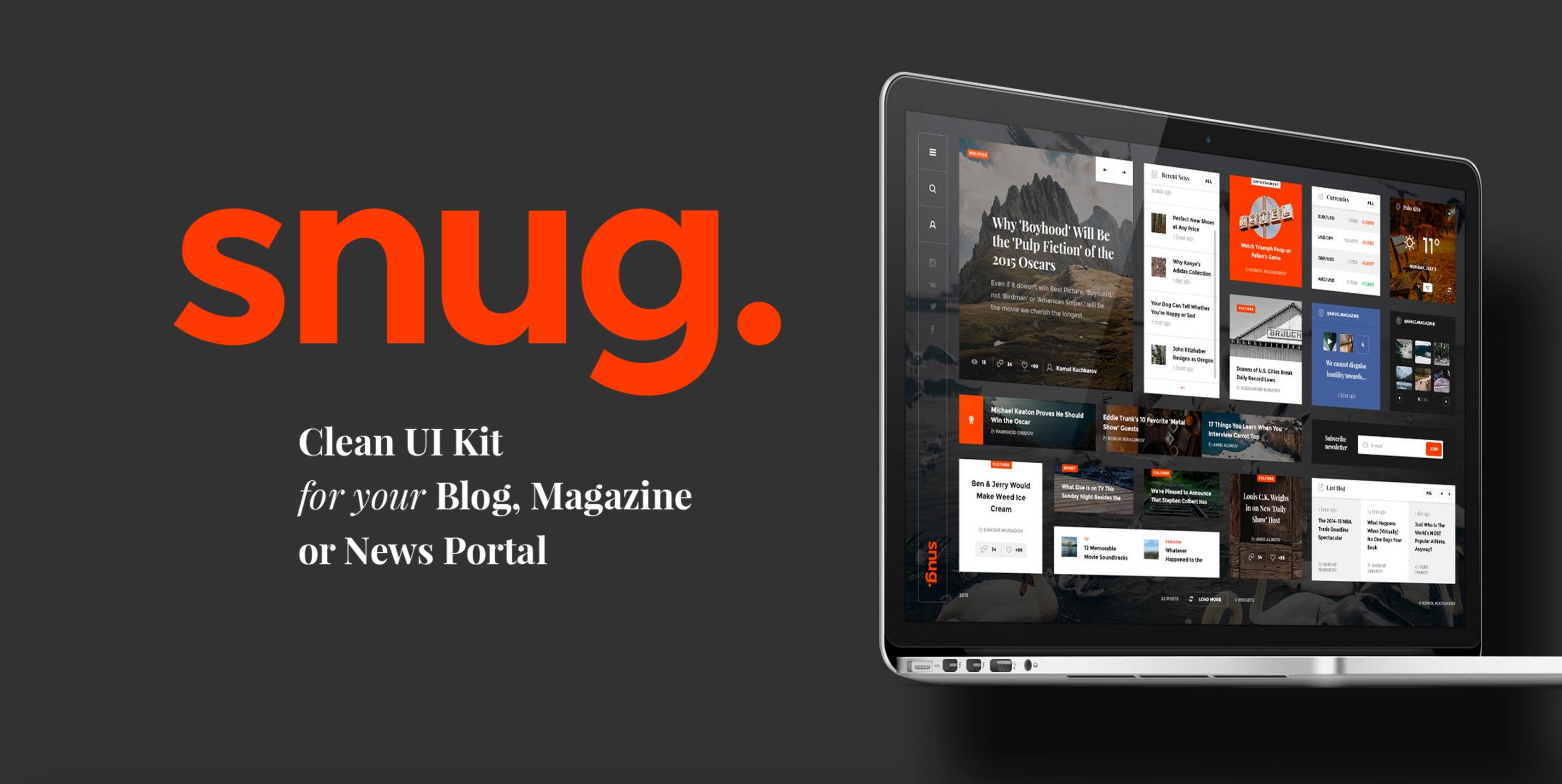 Snug_UI_Kit_-_Designmodo_Market