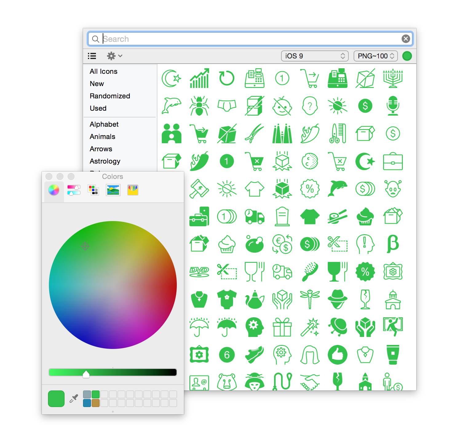 Recoloring-with-icons8-app