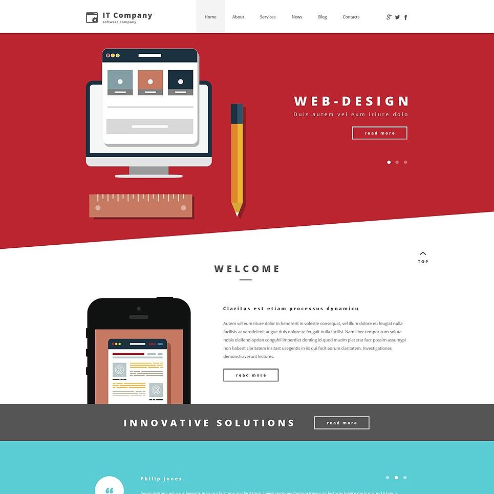 Landing Page Skills Test Web Design