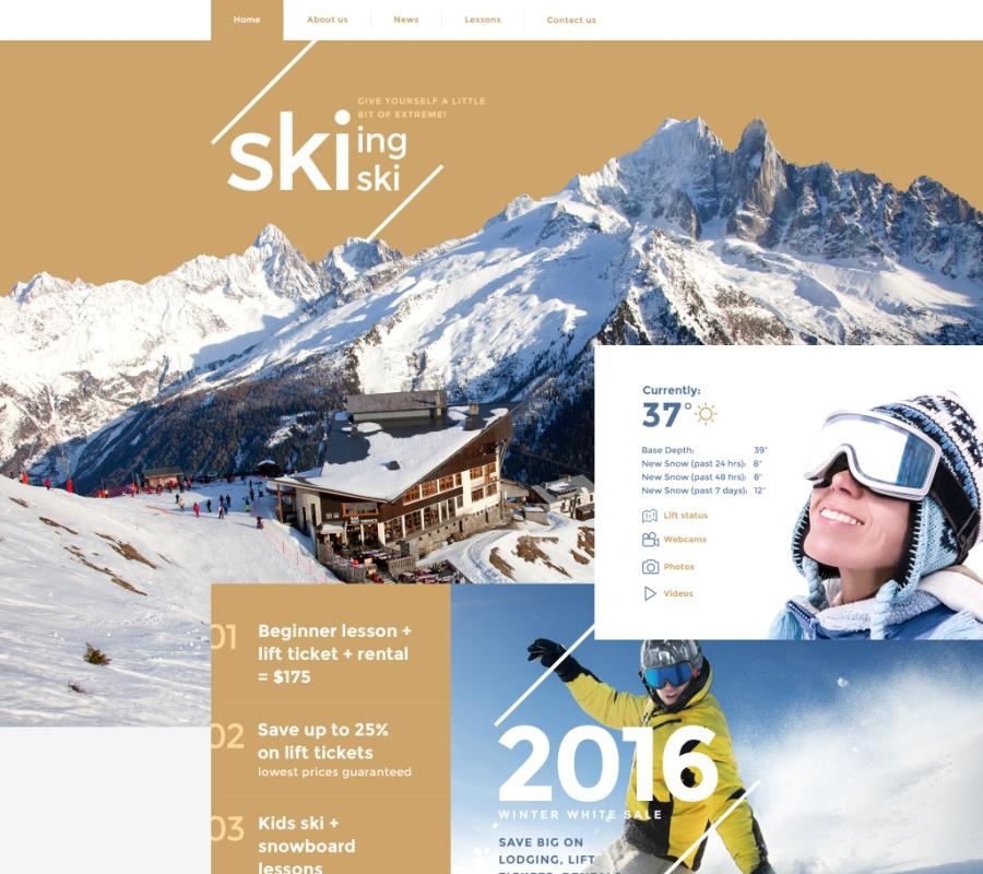 11-skiing