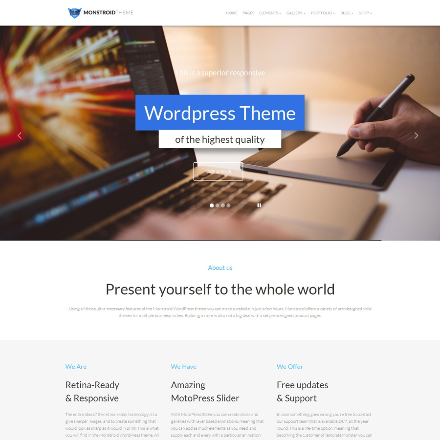 Save 50 on any template by templatemonster bonus 25 promo code monstroid wordpress theme maxwellsz