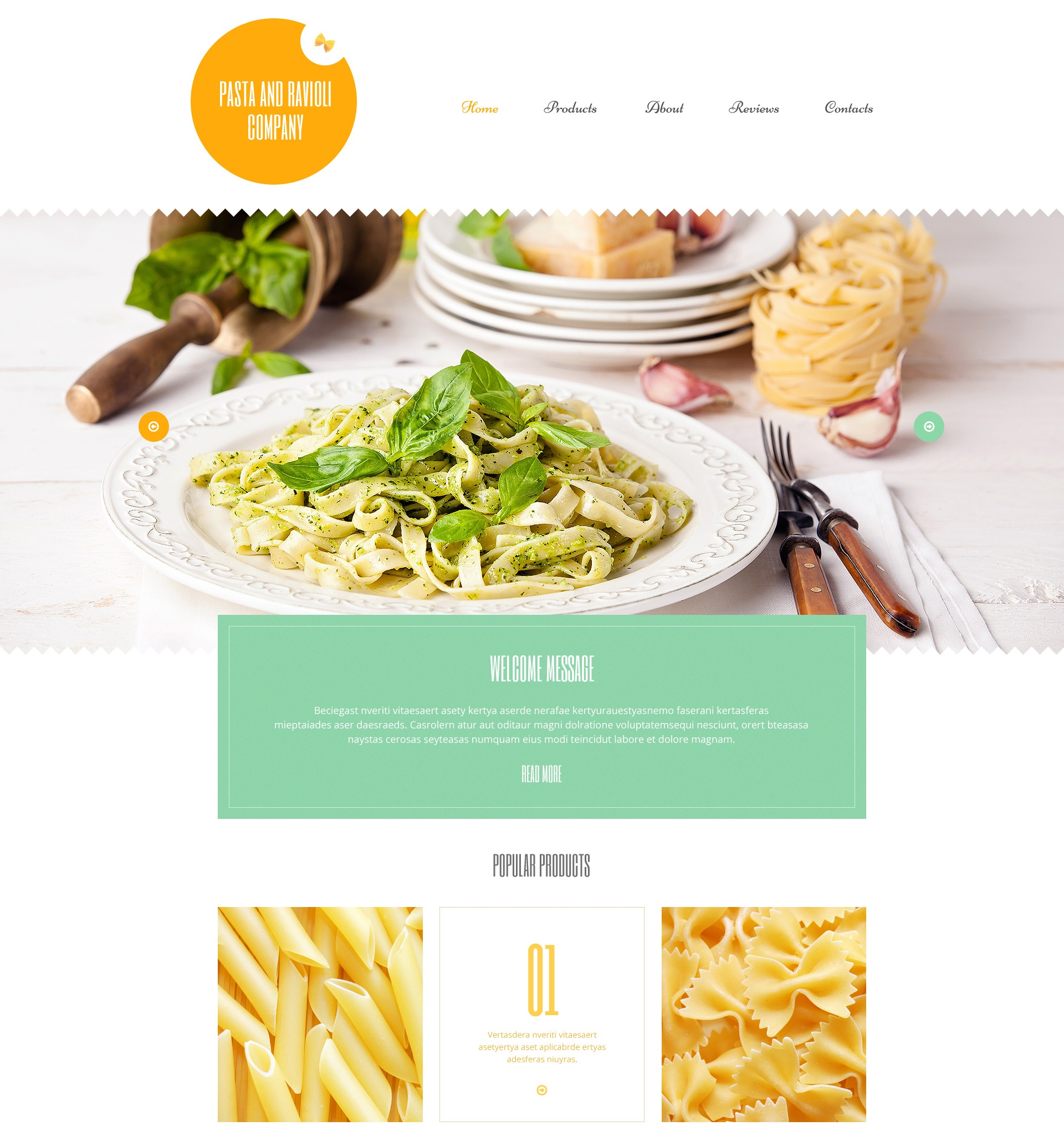Pasta and Ravioli