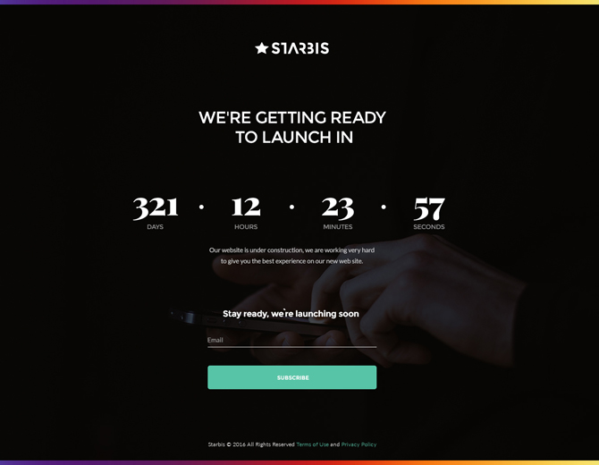 starbis-coming-soon-page