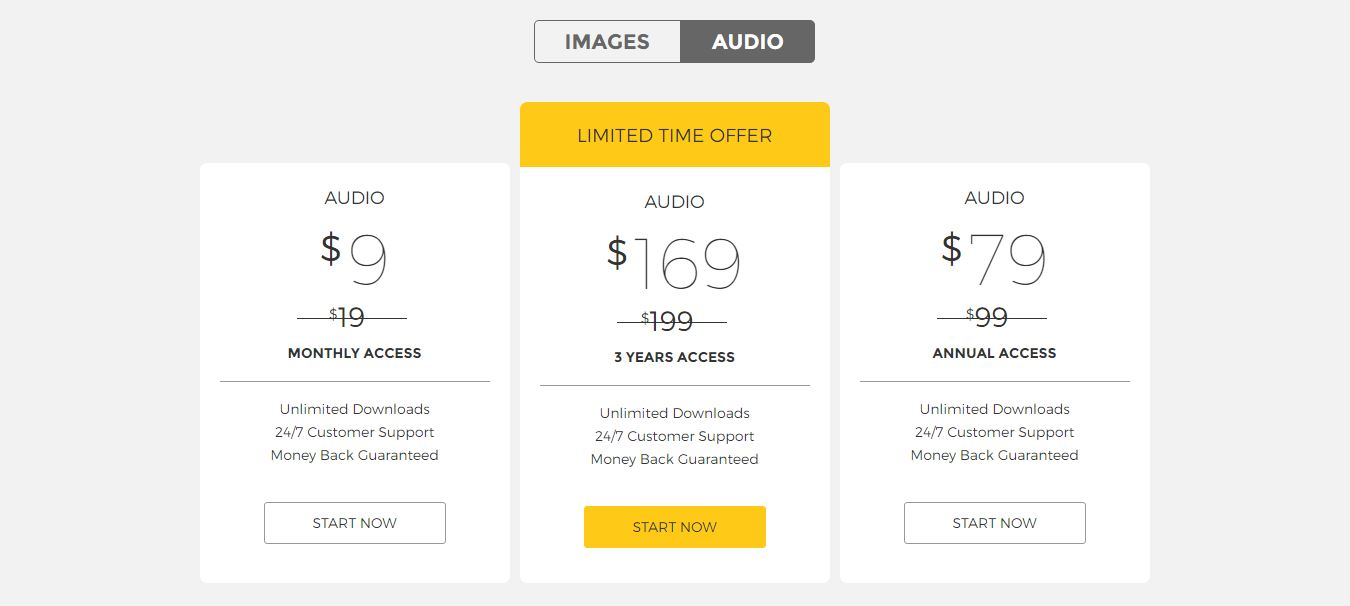 image of stockunlimited pricing
