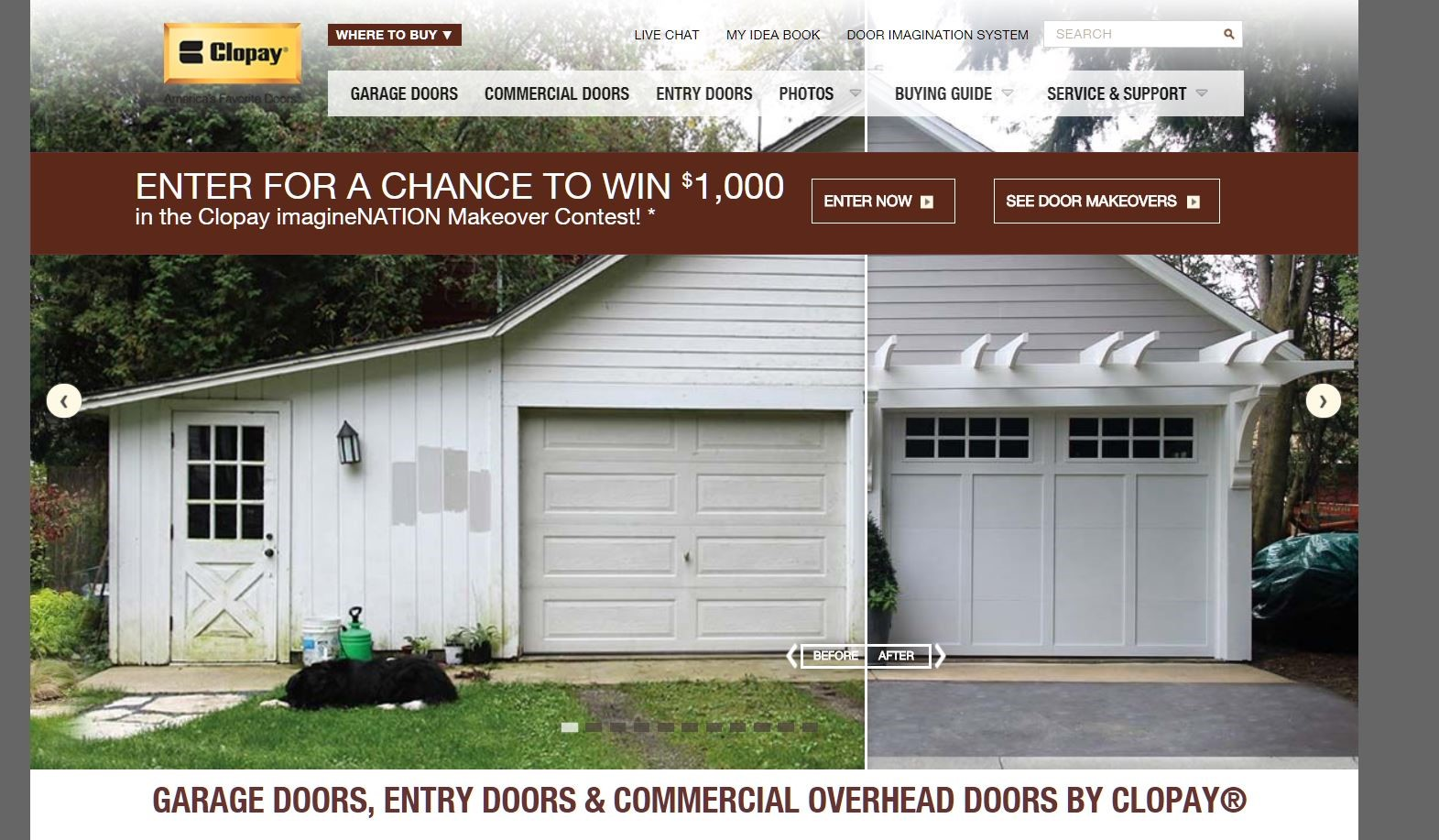 9 ways to increase your roi in your website design for Evergreen garage doors and service