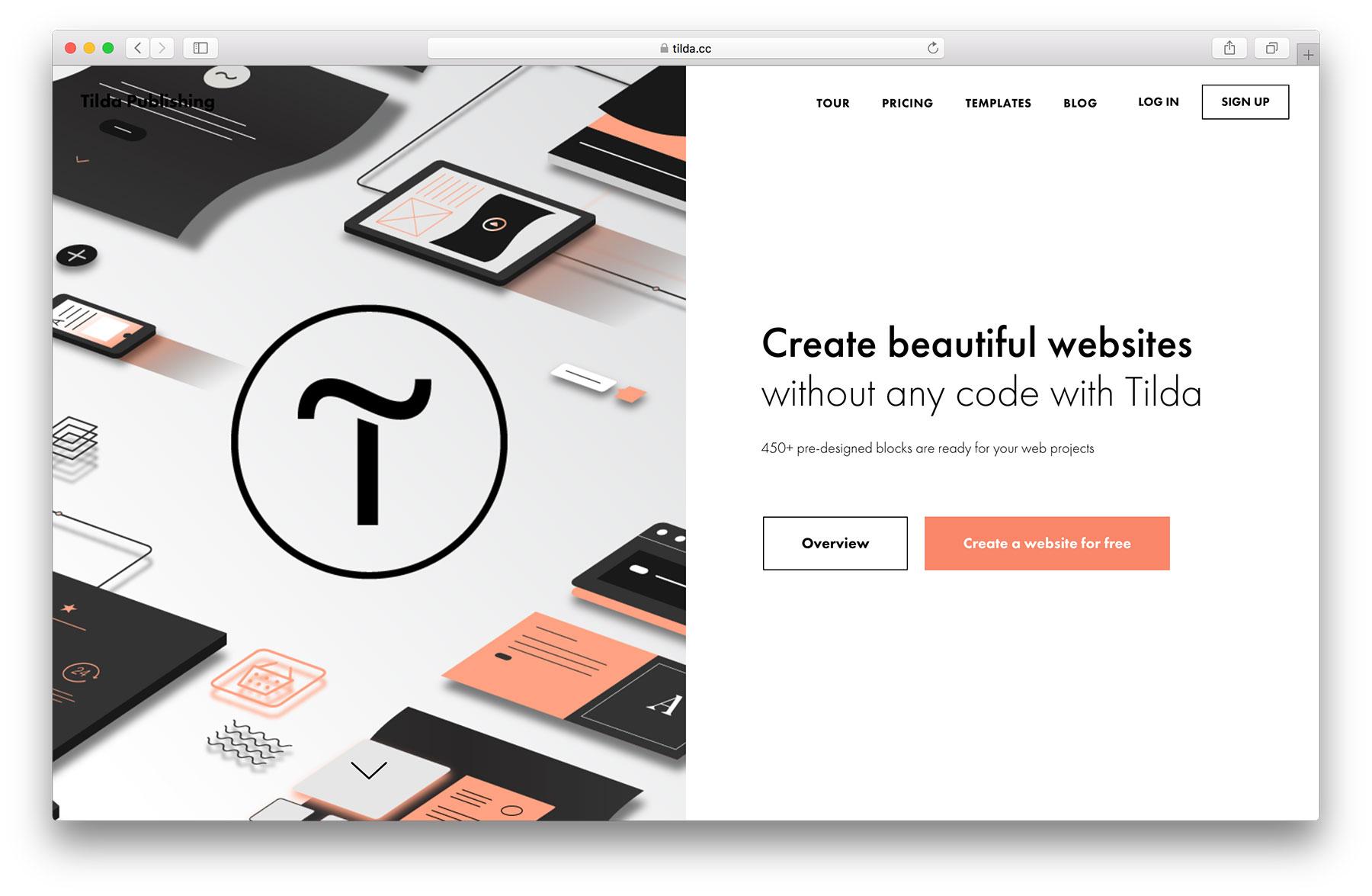 tilda website
